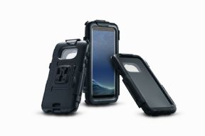 Hardcase for Samsung Galaxy S8 Splashproof. For GPS mount. Black. GPS.00.646.21000/B